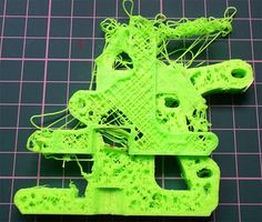 Reprap development and further adventures in DIY 3D printing: The 'Art' of failure - When 3D prints go wrong and lessons from failure
