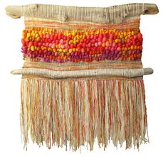 Marianne Werkmeister Magma y lava Weaving Textiles, Weaving Art, Loom Weaving, Hand Weaving, Textile Tapestry, Textile Fiber Art, Tapestry Weaving, Design Textile, Weaving Wall Hanging