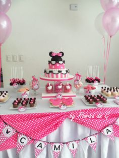 Minnie Mouse Party / Primer Cumple de Camila