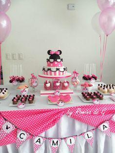 Minnie Mouse Party / Primer Cumple de Camila