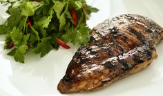 Grilled Chicken With Liquorice - Liquorice by Johan Bülow