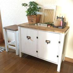 Refurbished Furniture, Diy Furniture, Colorbox, Diy Interior, Diy Woodworking, Dyi, Buffet, Diy And Crafts, Cabinet