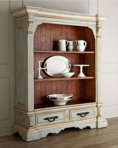 Vintage French Soul ~ Baroni Bookcase (Horchow) - Bedroom/living room piece