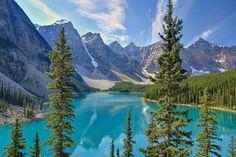 Der Moraine Lake im Banff National Park. #merianlovescanada