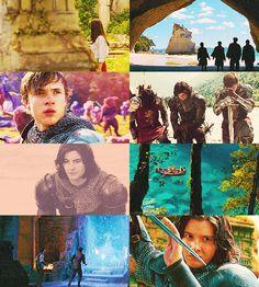 back in Narnia Susan Pevensie, Lucy Pevensie, Edmund Pevensie, Aslan Narnia, Skandar Keynes, Cair Paravel, Film Trilogies, Hidden Love, Mystical World