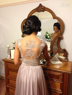2014 Silver Bridesmaid Dresses Off Shoulder Appliques Pleats Chiffon A-Line Floor Length Pageant Prom Party Dress