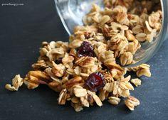 Shamelessly Easy, 5-Minute, 5-Ingredient Microwave Mug Granola #oats #glutenfree