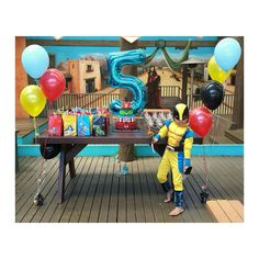 Superhero Birthday Party 18/01/15 for Isley