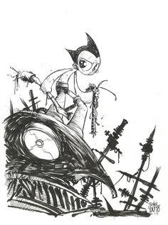 Astro Boy sketch by skottieyoung.deviantart.com on @deviantART