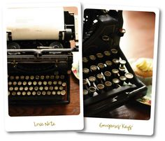 There's just something about vintage typewriters that makes me want to start creating.