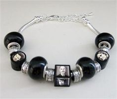 Black Picture Beads Bracelet Kit