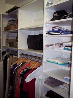 After Closet Makeover. Thank You Custom Closets And More. #relief  #organization