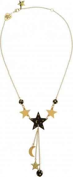 Midnight Mystic Star Necklace