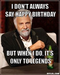 Funny Happy Birthday Memes for Facebook   Birthday Whatsapp Gif: Nowadays the internet and social media have erupted with funny memes, you can use best funny memes and share them everywhere from Facebook comments and adding tags of your friends on their profile walls.