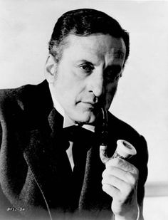 "tea-at-221b:    George C. Scott  As ""Sherlock Holmes"" in: They Might Be Giants, 1971.  Joanne Woodward as: Dr. Mildred Watson  Directed by: Anthony Harvey  Written by: James Goldman  Note: For those with access to Netflix, this is now streaming."