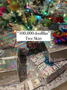 Rupaul Drag Race Christmas tree skirt $100,000 Rupaul Drag, Christmas Tree, Christmas Ornaments, Tree Skirts, Inspired, Holiday Decor, Inspiration, Instagram, Teal Christmas Tree