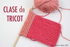 Clase tricot: Sacar puntos nuevos de un tejido (parte 1)