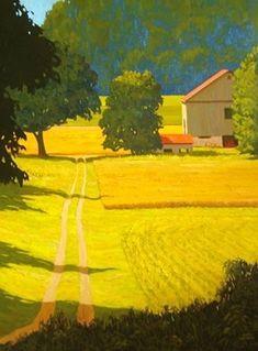 Artwork by Adam Noonan, Canadian 'plein air' painter Landscape Art, Landscape Paintings, Canada Landscape, Wow Art, Paintings I Love, Canadian Artists, Oeuvre D'art, Land Scape, Scenery