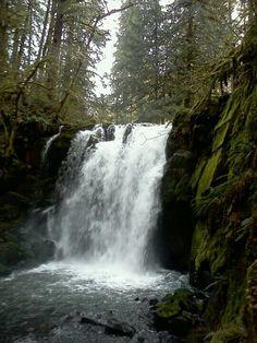 McDowell Creek Falls Near Lebanon Oregon