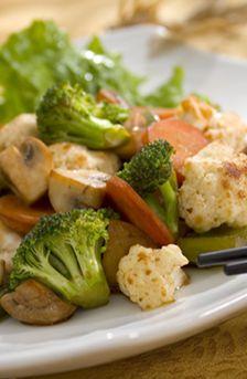 Verduras tepanyaki