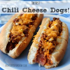 Best Chili Recipe for Chili Cheese Dogs sq