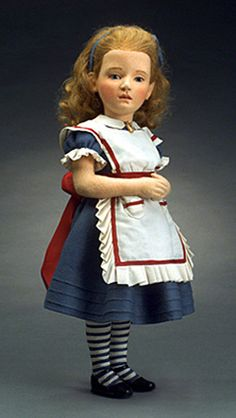 Wonderful Alice in Wonderland doll by R. John Wright