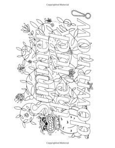 ADULT HUMOR Coloring Pages F Bomb Coloring Book Pages Swear Word