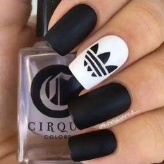 #Black #Nail #Art #Designs