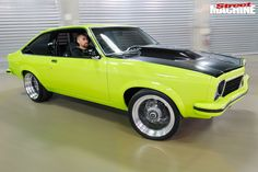 Mark House built this street driven, elite level LX Torana hatch at home in his shed in 12 short months Australian Muscle Cars, Aussie Muscle Cars, Holden Torana, Car Places, Race Engines, Best Mate, For Sale Sign, New Engine, House Built