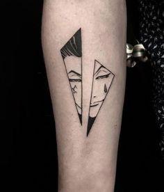 – Hunter x Hunter One Word Tattoos, Baby Tattoos, Tattoos For Kids, Cute Tattoos, Small Tattoos, Tiny Tattoo, Son Tattoos, Family Tattoos, Skull Rose Tattoos