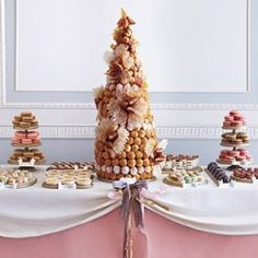 The French wedding cake - croquembouche!