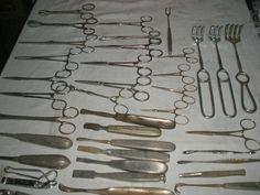 Vintage Large Lot of Dental Instrument blunt brong,Hager NH and more