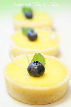 all tartlettes come in threes. Just Desserts, Delicious Desserts, Dessert Recipes, Yummy Food, Lemon Recipes, Sweet Recipes, Lemon Tarte, Yummy Treats, Sweet Treats
