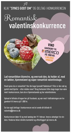 Campaign using Newsperience Facebook Photo App / fotokonkurrence  Newsperience.dk  valentines / valentinsdag