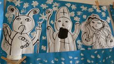 Angel And Devil, Tempera, Advent, Disney Characters, Fictional Characters, Preschool, Snoopy, Winter, Christmas