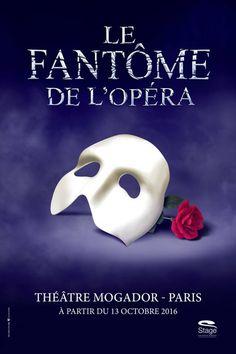 Le Fantôme de l'opéra - Théâtre Mogador | L'Officiel des spectacles