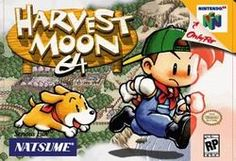 Harvest Moon 64 Nintendo 64 Video Game Cart by UpTownComics Harvest Moon N64, Playstation, Nintendo 64 Games, Super Nintendo, Buy Nintendo, Nintendo Eshop, Pc Engine, School Games, Moon Lovers