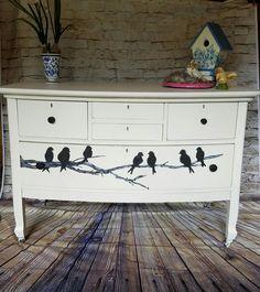 Birds antique dresser....by Elegant Interiors