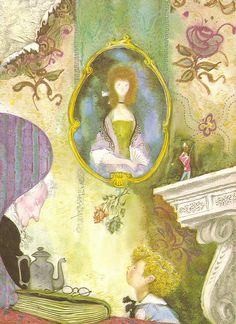 """Illustration by Jiří Trnka from """"Hans Christian Andersen's Fairy Tales"""""""