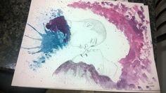 #love #watercolor #aquarela #aquarelle