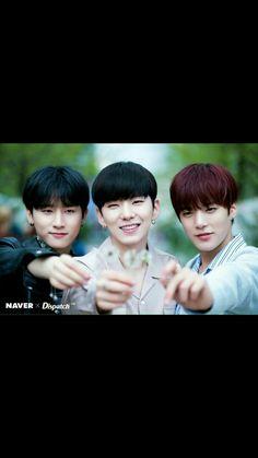 I.M, Kihyun & Minhyuk from MONSTA X