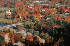 This is autumn in Kent, CT. Yankee Magazine voted it the best town for fall foliage in 2010. I would LOVE to live here or pretty much any place in Litchfield County. Kent is a rad little town.