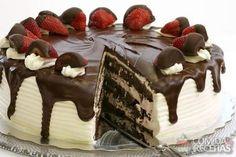 Receita de Bolo trufado 2 chocolates em receitas de bolos, veja essa e outras receitas aqui!                                                                                                                                                                                 Mais