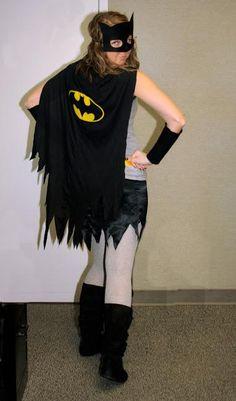 Attractive A DIY Batman Costume For Women 382×650 Pixels