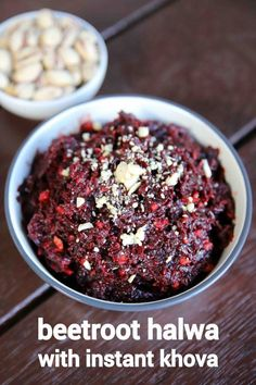 beetroot halwa recipe, chukandar ka halwa, beetroot ka halwa with step by step photo/video. indian sweets or dessert recipe with grated beetroot and khova. Indian Desserts, Indian Sweets, Indian Food Recipes, Vegetarian Recipes, Kitchen Recipes, Cooking Recipes, Easy Recipes, Healthy Meals For Kids, Easy Meals