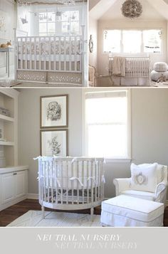 Neutral nurseries, credit for images in post, love all of these beauties!