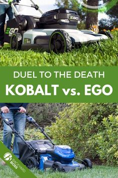 Ego and Kobalt mowers are two of the world's premier producers of electric walk-behind mowers for residential use. But is one more suitable for you and your yard? Head over to BYB and find out!