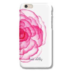 We told you we love pink around here. Apparently, artist extraordinaire, Cass Deller loves it too! This pink peony is perfect for ladies who love this rich shad