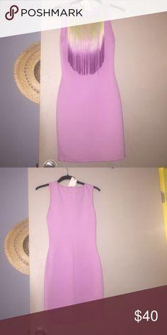 Dress Bodycon fringe dress purchase at asos ASOS Dresses Mini