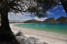 Tasting One of the World Top Ten: Wineglass Bay, Freycinet National Park Tasmania... another multi-day hike on my bucket list